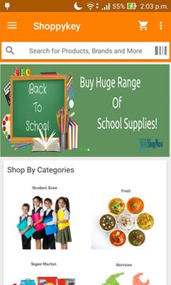 ShoppyKey Online Shopping App